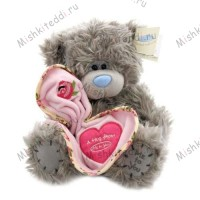 Мишка Тедди Me to You с сердцем - Me To You Tatty Teddy Hug Bear  GO1W1673 15