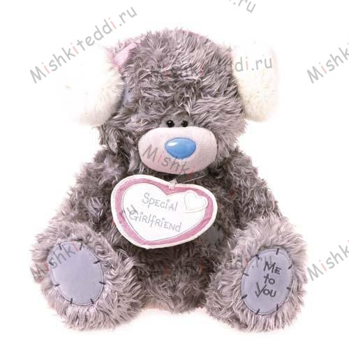 Мишка Тедди Me to You с сердцем - Special Girlfriend Me to You Bear G01W1947 60 Special Girlfriend Me to You Bear