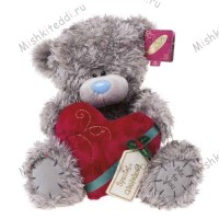 Мишка Тедди Me to You с сердцем - Special Girlfriend Heart Me to You Bear G01W1217 20