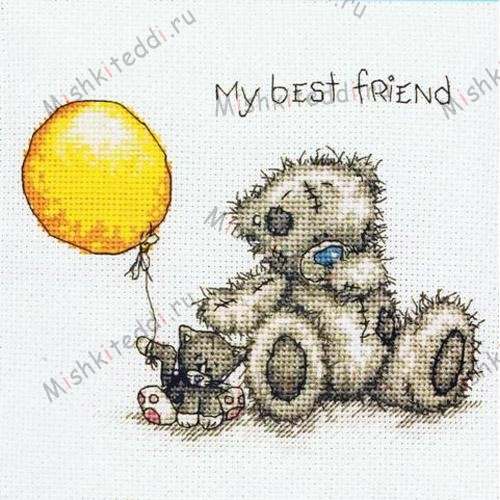 My Best Friend Me to You Bear Cross Stitch Kit My Best Friend Me to You Bear Cross Stitch Kit