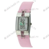 Часы Me to you - Мишка Тедди  в футболке - Me to You Bear Watch Pink MTY217B 117