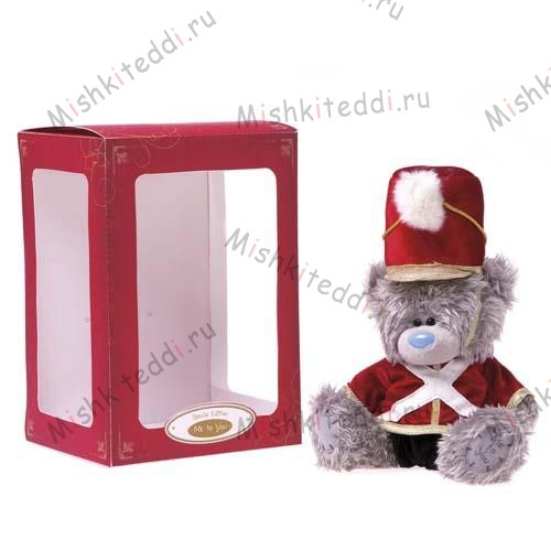 Мишка Тедди Me to You в форме гусара Boxed Drummer Boy Me to You Bear SPECIAL EDITION