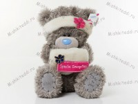 Мишка Тедди Me to You  - Tatty Teddy wearing headband and muff embroidered with 'special daughter'  79