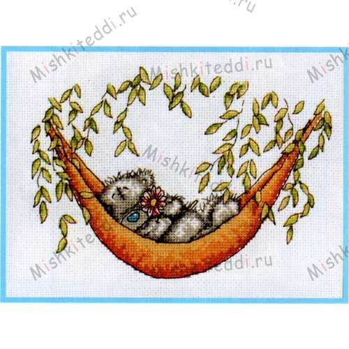 Lazy Days Me to You Bear Cross Stitch Kit Lazy Days Me to You Bear Cross Stitch Kit