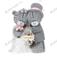 Just Married Me to You Bear Figurine (Dec Pre-Order)