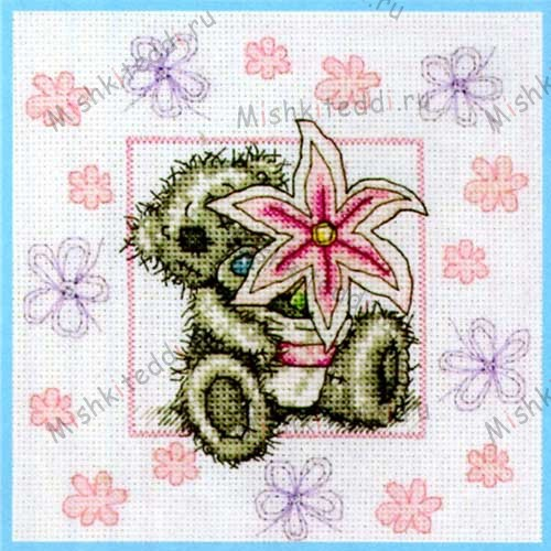Lily Me to You Bear Cross Stitch Kit Lily Me to You Bear Cross Stitch Kit