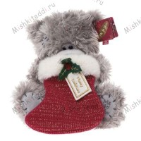 Мишка Тедди Me to You рождественский - Holding Stocking Me to You Bear G01W1218 173
