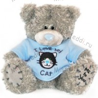 Мишка Тедди Me to You в футболке - Me To You Tatty Teddy Cat  139