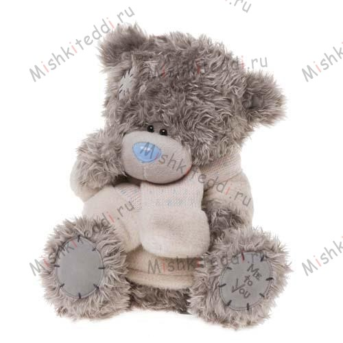 Мишка Тедди Me to You в джемпере - With Jumper & Scarf Me to You Bear G01W1181 43 With Jumper & Scarf Me to You Bear