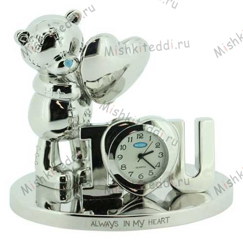 Часы Me to you- Всегда в моем сердце - Always in My Heart Me to You Bear Clock MTYG008 174 Always in My Heart Me to You Bear Clock