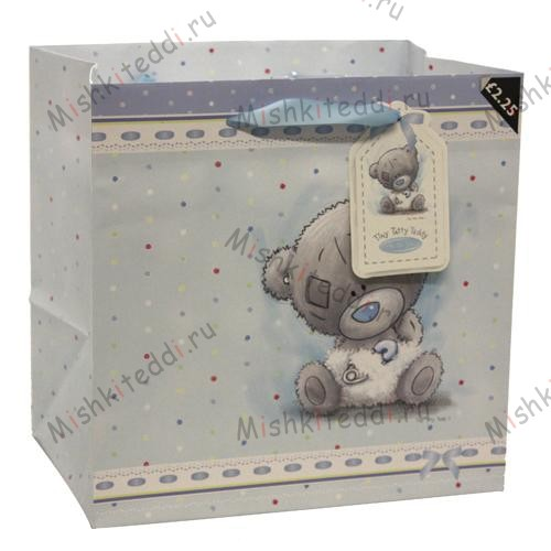 Me to You Bear Baby Boy Medium Gift Bag Me to You Bear Baby Boy Medium Gift Bag