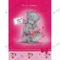 Grandms Mothers Day Me to You Bear Card