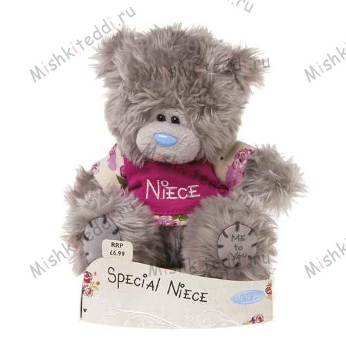 "Мишка Тедди Me To You  12 см в футболке  Special Niece - 5"" Special Niece Me to You Bear G01W1586 102 5"" Special Niece Me to You Bear"