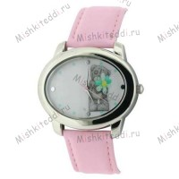 Часы Me to you - Мишка Тедди  с ромашкой - Me to You Bear Watch Pink MTY225B 93