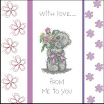 Tatty Teddy With Love Cushion - TT203