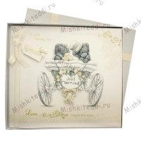 On Your Wedding Day Me to You Bear Boxed Card