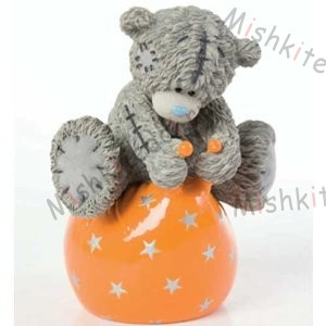 Me to You Tatty Teddy Figurine - Bouncing with Joy Me to You Tatty Teddy Figurine - Bouncing with Joy