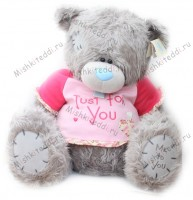 Мишка Тедди Me to you 70 см в футболке Just for You  - ME TO YOU TATTY TEDDY  02_G01W1670 72