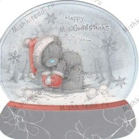 Tatty With Snowball Me to You Bear Christmas Card