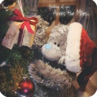 Across the Miles… Me to You Bear Christmas Card