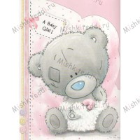 Baby Girl Me to You Bear Card