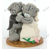 First Dance Me to You Bear Figurine