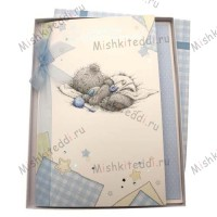 Birth of Your Baby Boy Me to You Bear Card